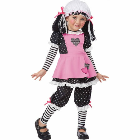 Rag Doll Child Halloween Costume](Halloween Costume Rag Doll)