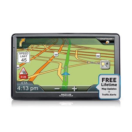 Refurbished Magellan Roadmate 9612T Lm 7  Portable Touchscreen Gps Navigation System