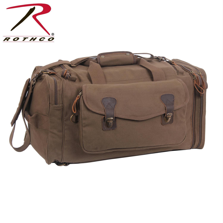 BlackBeltShop Rothco Canvas Extended Stay Travel Duffle Bag by BlackBeltShop