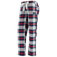 Washington Wizards Concepts Sport Women's Headway Flannel Pants - Navy/Red