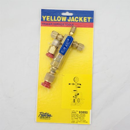 Yellow Jacket 93850 SuperEvac Manifold, 3/8