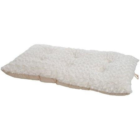 PETMAKER Cushion Pillow Pet Bed, Latte, Small