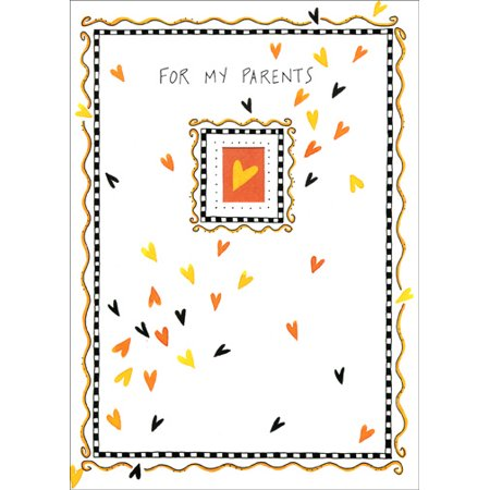 Recycled Paper Greetings Little Hearts Halloween Card](Halloween Crafts From Recycled Materials)