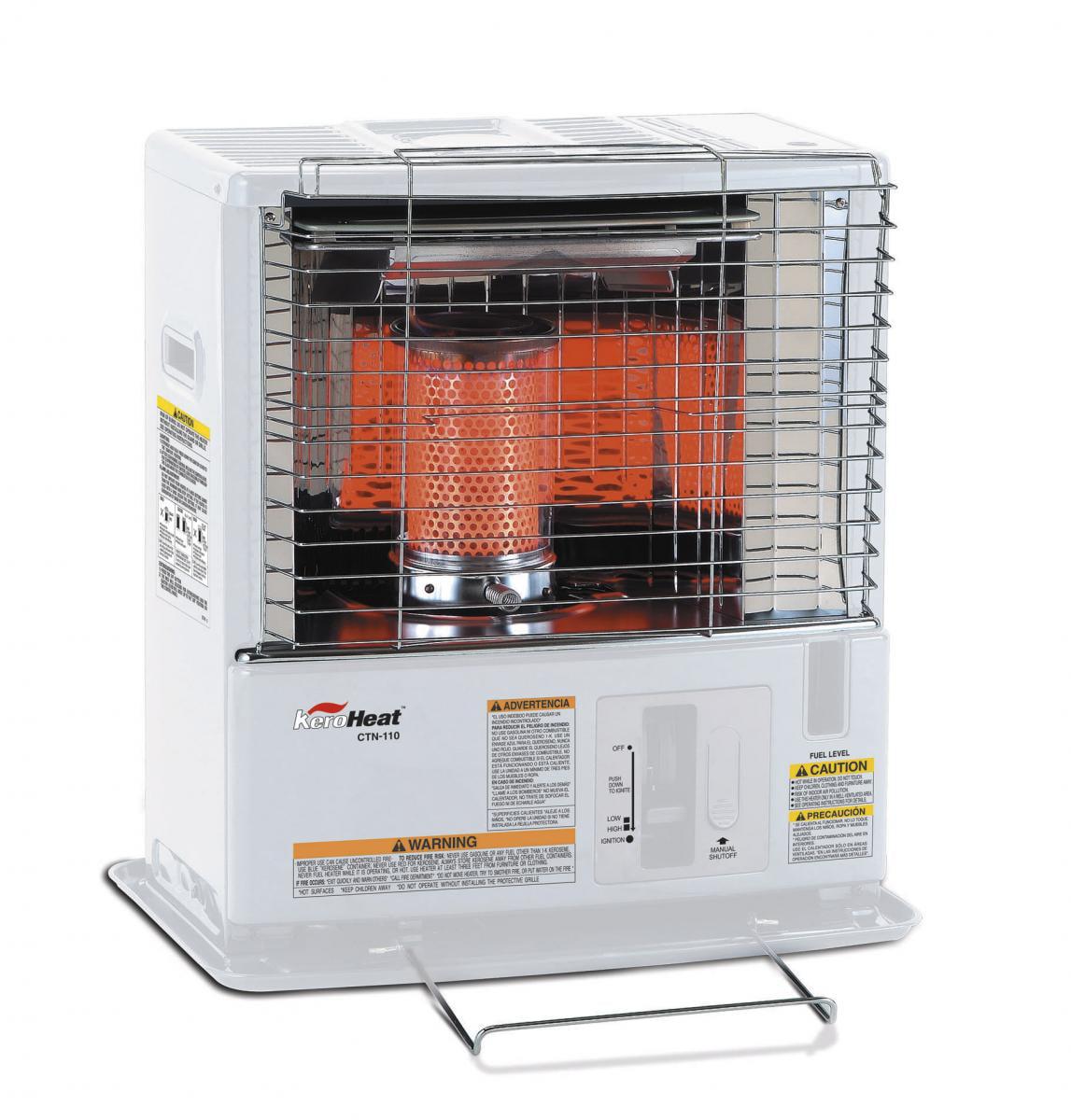 Radiant Kerosene Heater by SENGOKU