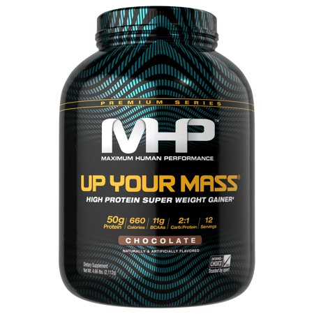MHP Up Your Mass Powder, Chocolate, 4.66 Lb