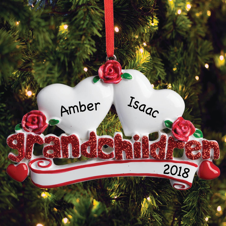 Product Image Two Grandchildren Personalized Ornament