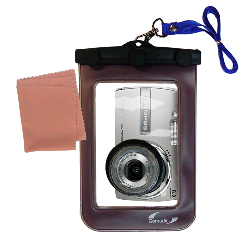 Gomadic Waterproof Camera Protective Bag suitable for the Olympus Stylus 810 Digital