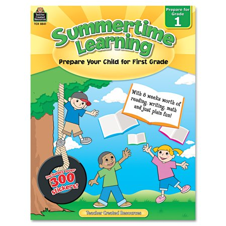 Teacher Created Resources Summertime Learning, Reading, Writing, Math, Grade 1, 112 Pages](Resources For English Teachers Halloween)
