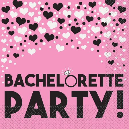 Bachelorette Party Lunch Napkins, 16ct