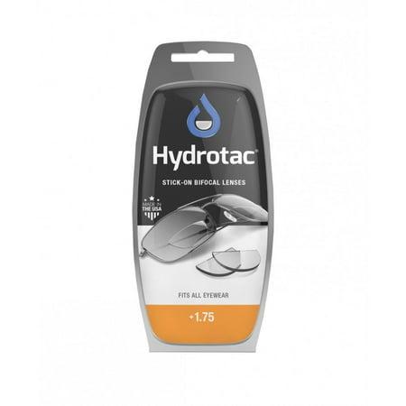Hydrotac OPTX 20/20 Stick On Reusable Bifocal Lenses Great For Sunglasses (Stick On Bifocals For Sunglasses)