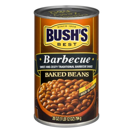 BUSH'S BEST Baked Beans Barbecue, 28.0 OZ
