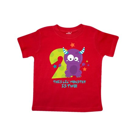Monster 2nd Birthday Toddler T-Shirt (Monsters Inc Clothing For Toddlers)