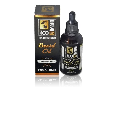 iDO My BEARD - Deluxe Beard Oil and Leave-in Conditioner Softener - Fragrance Free 100% Organic