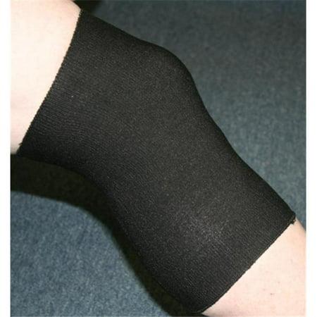 Indogem 736026U Copper Yarn Knee Compression Sleeve  44  Black   Universal