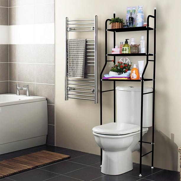 3 Shelf Bathroom Space Saver Over The Toilet Rack Bathroom Corner Stand Storage Organizer Accessories Bathroom Cabinet Tower Shelf 62x19 5 Inch Walmart Com Walmart Com