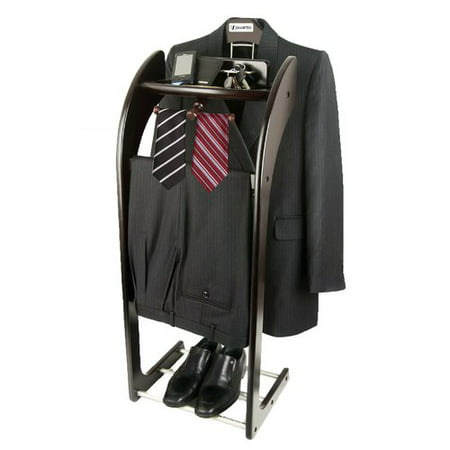 Smartek Clothes Butler Valet Stand for Men's Suit and Clothing ()