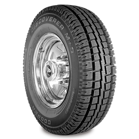 COOPER DISCOVERER M+S 265/75R15 112S Tire (Best Light Truck Snow Tires)
