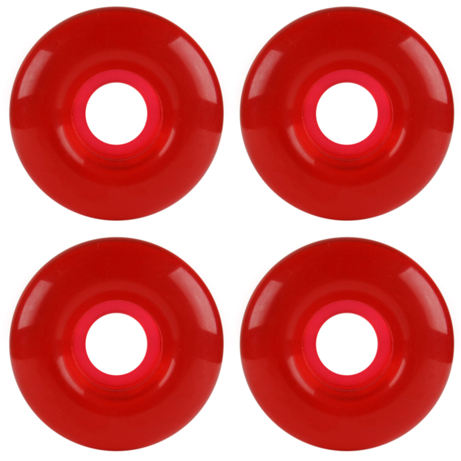 RED GEL Skateboard  WHEELS Skateboards 54mm 98A