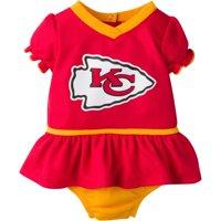 Product Image NFL Kansas City Chiefs Baby Girls Mesh Dazzle Dress and Panty  Set 3483e20d7