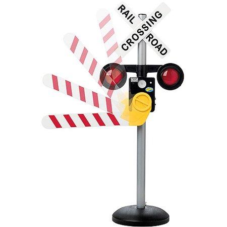 Pavlov'z Toyz Talking Railroad Crossing Sign