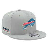 Buffalo Bills New Era Crafted in the USA 9FIFTY Adjustable Hat - Gray - OSFA