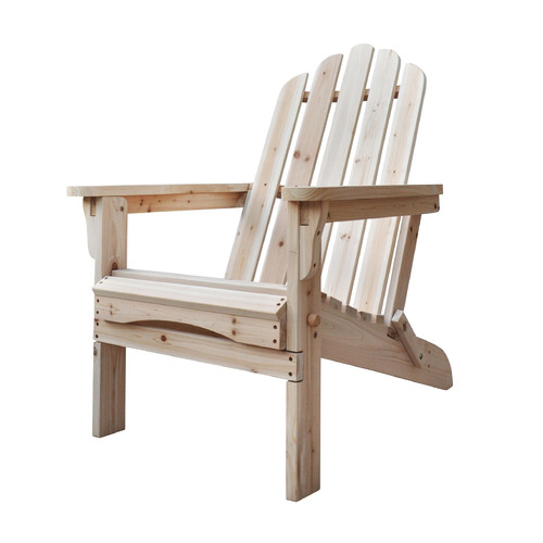 Shine Company Marina Folding Adirondack Chair