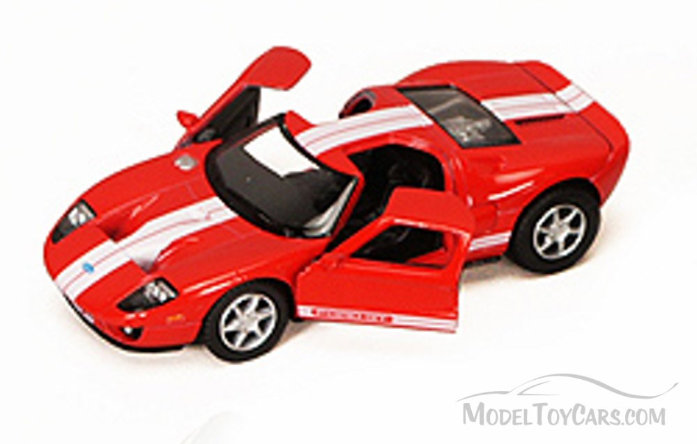 Ford Gt Red Kinsmart D   Scalecast Model Toy Car Brand New But Not In Box Walmart Com