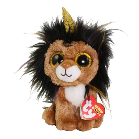 TY Beanie Boos - RAMSEY the UniLion (Regular Size - 6