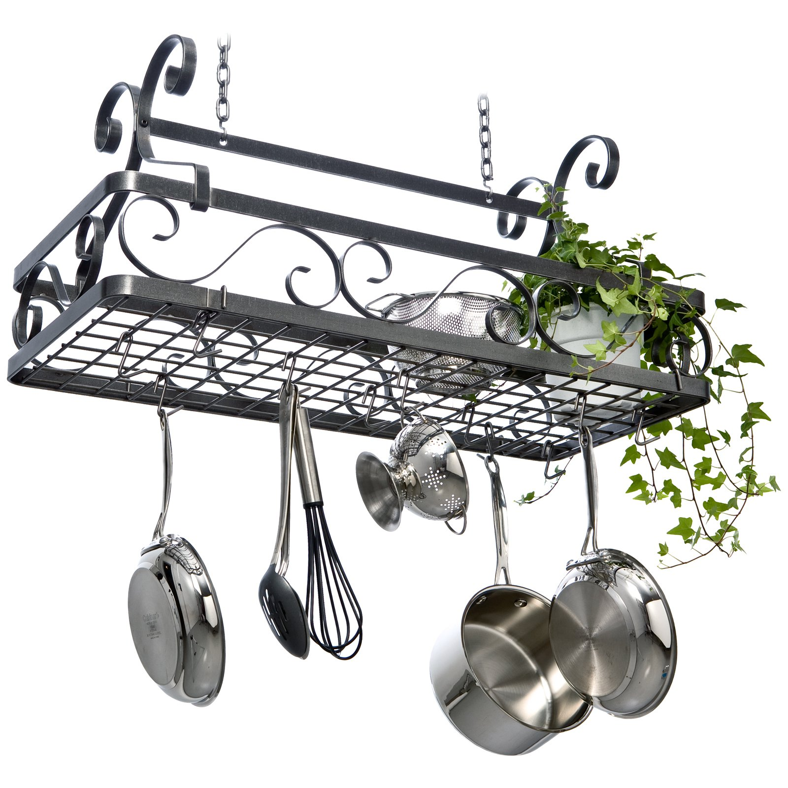Clifford Hanging Basket Pot Rack by Enclume Design Products Inc