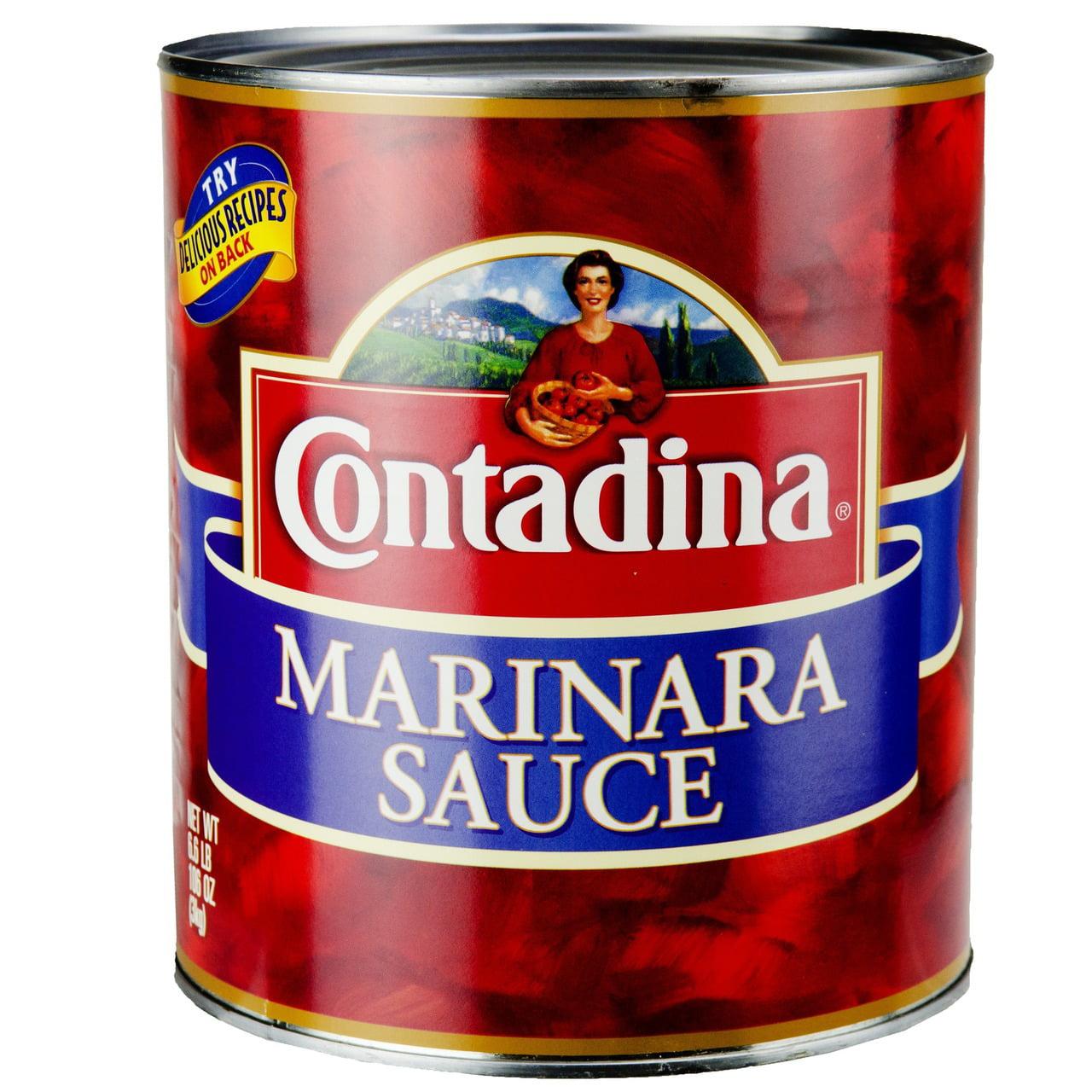 6 PACKS : Sauce Contadina Marinara - 105 Ounce