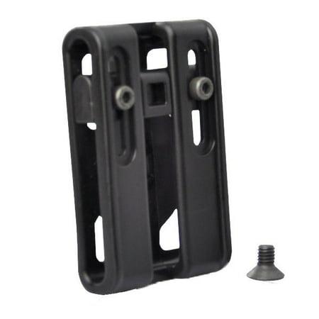 Modular Belt - Tactical Scorpion Gear Polymer Modular Belt Clip Adjustable Black