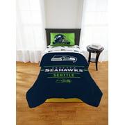 NFL Seattle Seahawks Monument Twin Xl Comforter Set, 1 Each