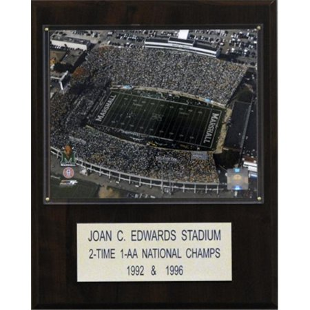 C   I Collectables 1215Marshalls Ncaa Football Joan C   Edwards Stadium Stadium Plaque