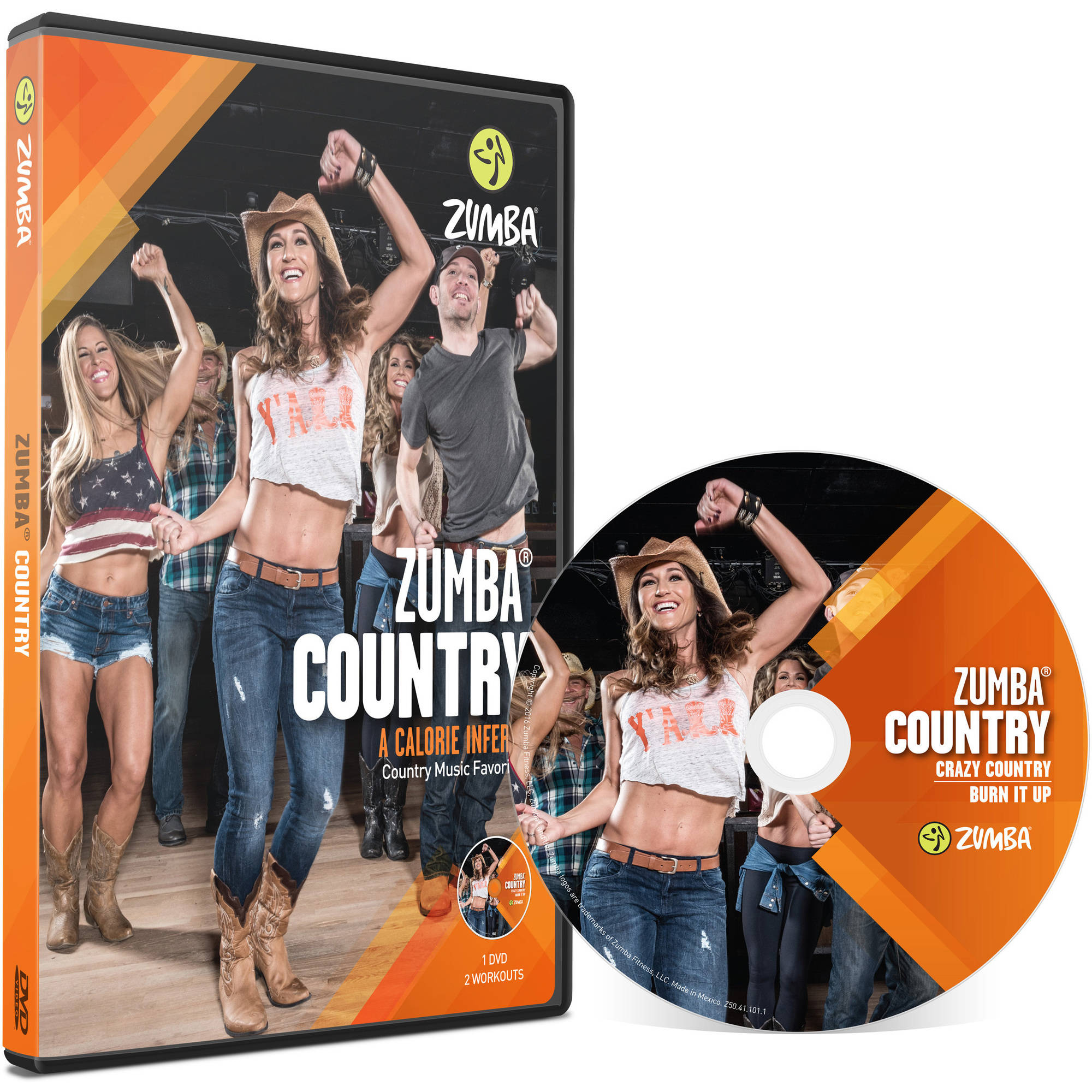 Zumba Country DVD by