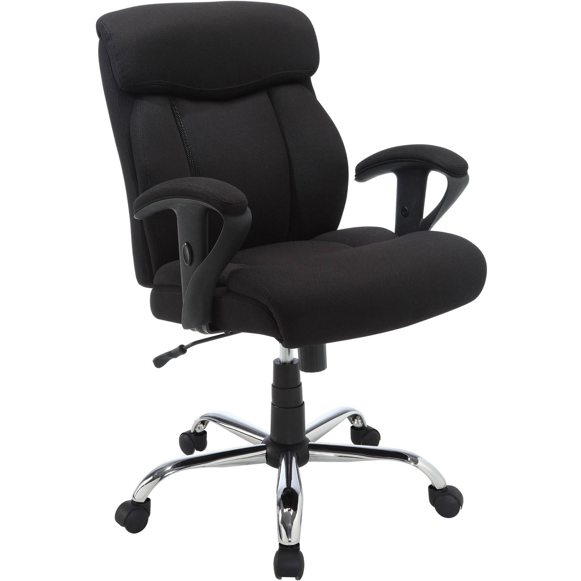 Prime Details About Black Office Chair Big Tall Manager Mesh Desk Furniture Heavy Duty 300Lb Max Ibusinesslaw Wood Chair Design Ideas Ibusinesslaworg