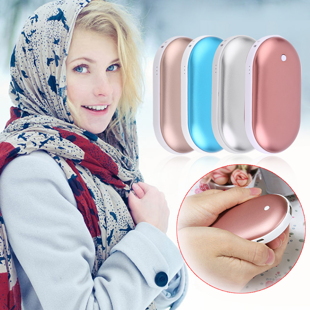 Creative Electric Hand Warmer Outdoor Winter Keep Warm Rechargeable Heater by YKS