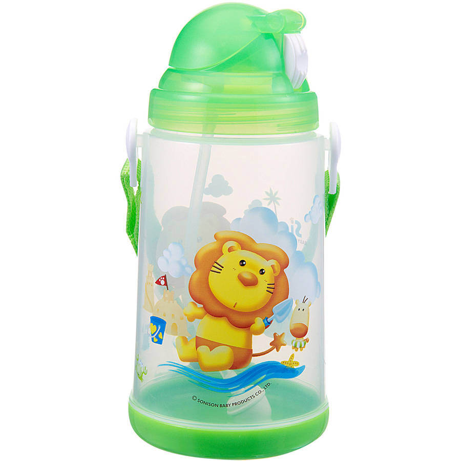 Simba 22 oz Pop-Up Training Cup, Green by Simba