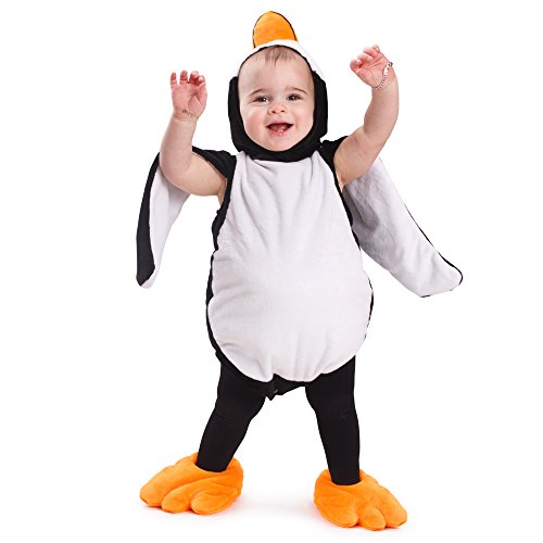 Dress Up America Penguin Baby Costume Penguin Outfit Penguin Halloween Dress for Baby