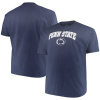 6f79ccb38f1c6b Product Image Men's Russell Navy Penn State Nittany Lions Big & Tall Core  Crew Neck ...