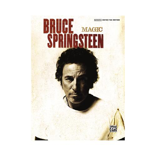 Alfred Bruce Springsteen Magic (Guitar TAB) by Alfred