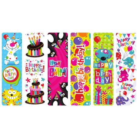 HAPPY BIRTHDAY BOOKMARK 100/BG