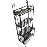 Folding Piper Tiered Bakers Rack Plant Stand