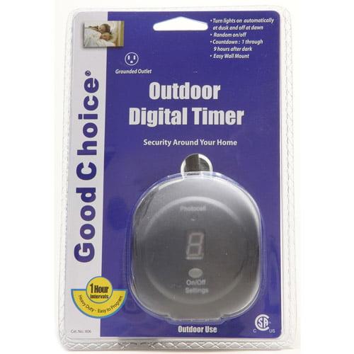Good Choice Outdoor Digital Timer