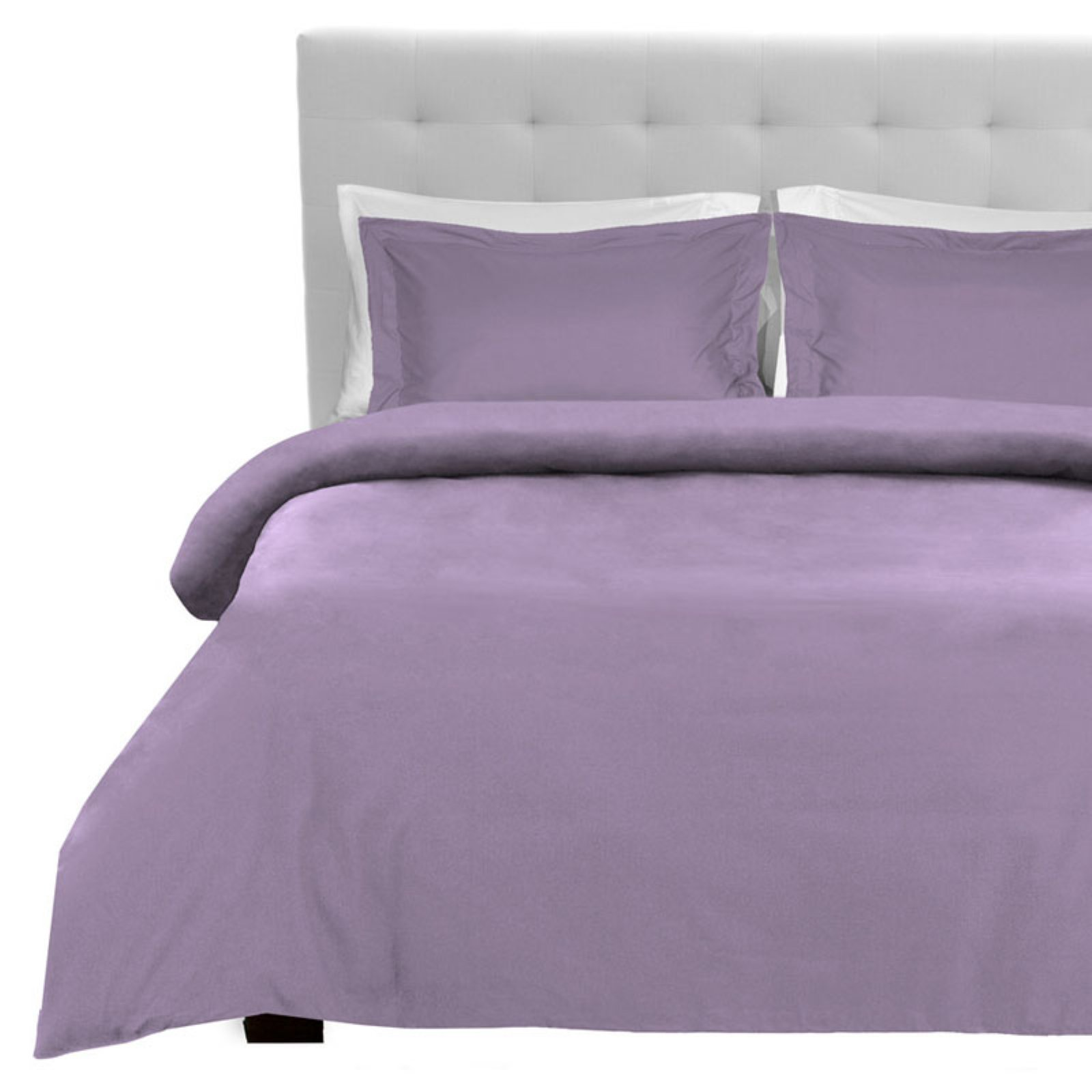 Luxury Double Brushed Microfiber Duvet Cover Set by Bare Home