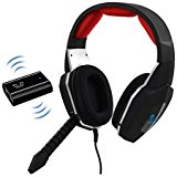 HUHD Wired Optical Connect Gaming Headset Noise Cancellin...
