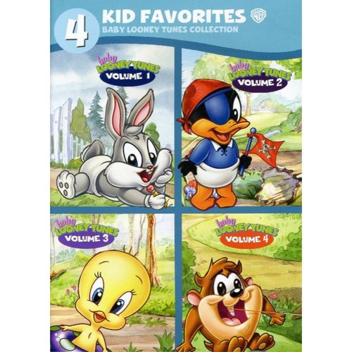 4 Kid Favorites: Baby Looney Tunes Collection - Volumes 1 - 4