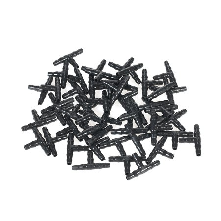 50pcs Sets Tee Joint Hose Connectors Irrigation Barbed Water Pipe Watering System - image 6 of 7