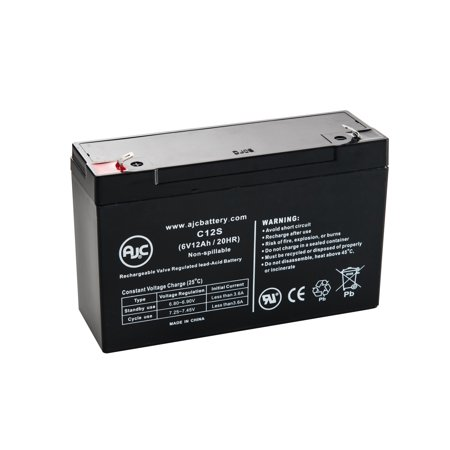 Best Power Patriot Patriot II Pro 1000 6V 12Ah UPS Battery - This is an AJC Brand