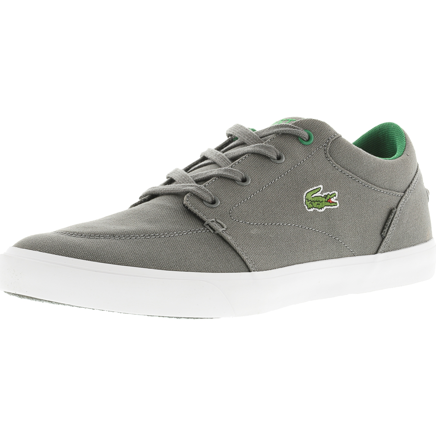 lacoste gray shoes