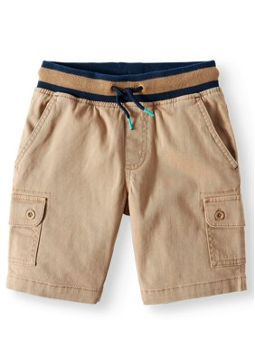 4537c9b588da Product Image Rib Waist Cargo Pull On Short (Little Boys